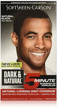 SoftSheen Carson Dark and Natural Hair Color, Natural Black