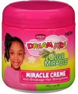 African Pride Dream Kids Olive Miracle Creme Anti Breakage 170g
