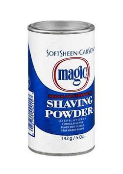Magic Shaving Powder Blue - 142g