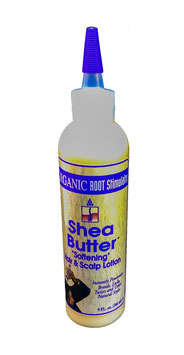 "Organic Root Stimulator Shea Butter ""softening"" hair and scalp lotion 266 ml."