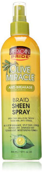 African Pride Olive Miracle Braid Sheen Spray - 355ml