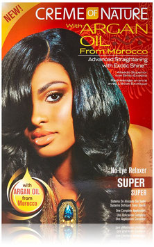Creme of Nature Argan Oil No-Lye Relaxer - Super