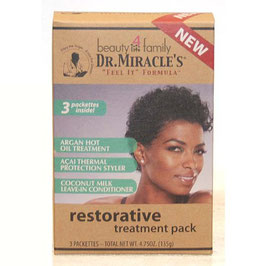 Dr.Miracle's Restorative Treatment 3 Pack 1,75oz