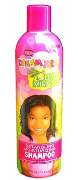 African Pride Dream Kids Olive Miracle Detangling Moisturizing Shampoo 355ml.