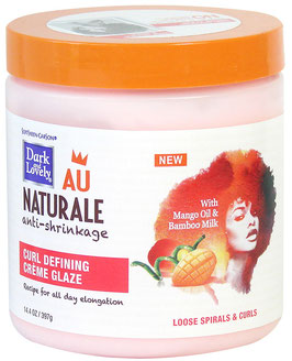 DARK & LOVELY AU NATURALE CURL DEFINING CREME GLAZE 397G