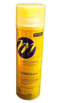 Motions Salon Haircare Oil Sheen & Conditioning Spray