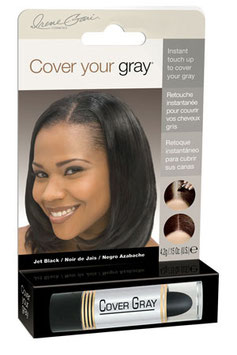 DR COVER YOUR GRAY FOR WOMEN S-Jet black
