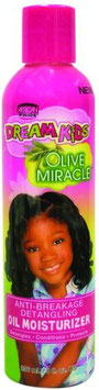 African Pride Dream Kids Olive Miracle Anti-breakage Detangling oil Moisturizer 236ml.