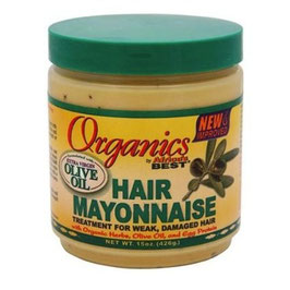 New improved Organic Hair Mayonnaise (426g) by Africa's Best