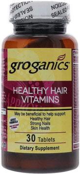 Groganics Healthy Hair Vitamins