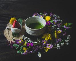 matcha & flowers 01