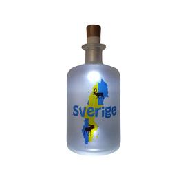 """USB LED Flaschenlicht """"Schweden"""""""