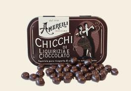 Lakritz mit Schokoladenüberzug