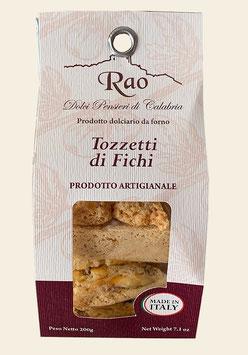 Tozzetti ai Fichi / di Cedro / di Cioccolato al Bergamotto - Feigen / Zitronatzitronen / Bergamotte-Schokoladen - Kekse