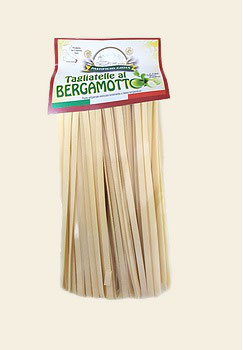 Tagliatelle oder Paccheri mit Bergamotte