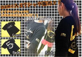 name入りロゴTシャツ☆