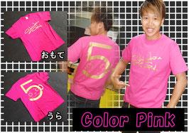 SHINDOUロゴTシャツ Pink