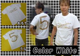 SHINDOUロゴTシャツ White