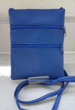 Pochette cuir plate porté épaule ou en travers