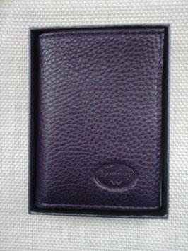 Porte cartes cuir avec boîte