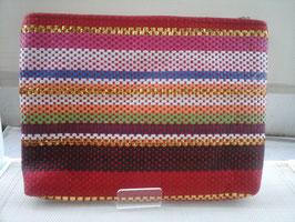 Trousse/pochette plate multicolore