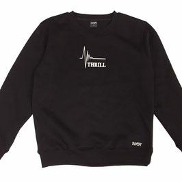 Thrill black sweatshirt