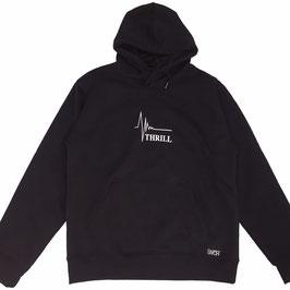 Thrill black hoodie