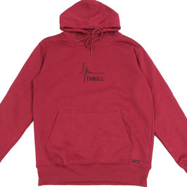 Thrill red hoodie