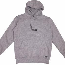 Thrill grey hoodie
