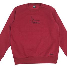 Thrill red sweatshirt