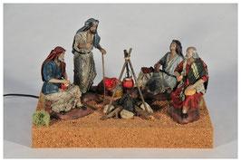 Anunciación a los Pastores en  21 centímetros mv