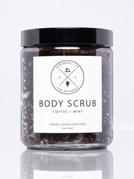 Body Scrub: Coffee + Mint