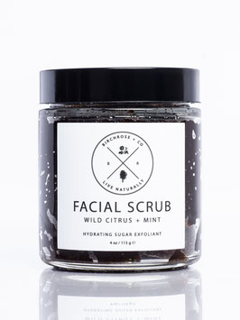 Facial Scrub: Wild Citrus + Mint