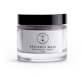 Radiance Clay Mask: Rose +Papaya