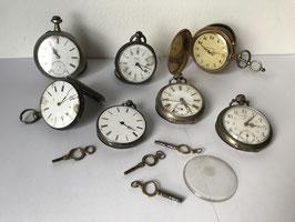 Lot de 7 montres gousset