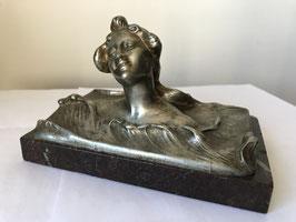 Bronze Art Nouveau signé Joaquin