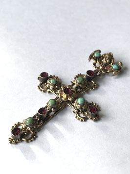 Croix ancienne en argent croix provencale