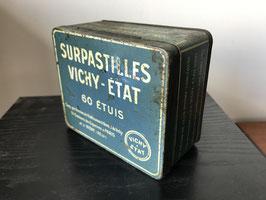 Boite ancienne tôle Vichy Etat