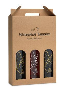 "Weinpaket ""LIKE A KISS"" – die 3 edlen Cuvées"