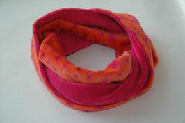 Loop – Schal 'orange-pink'