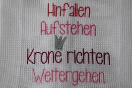 Küchentüechli 'rosa Krone'