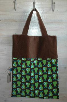 Retro - Tasche gross 'Birnen'