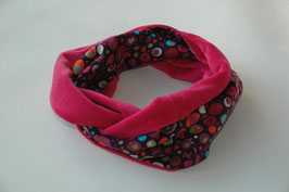 Loop – Schal 'violett- pink'