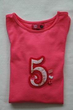 Geburtstags – Shirt 5 pink