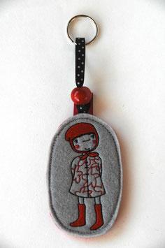 Schlüsselanhänger Rotkäppli