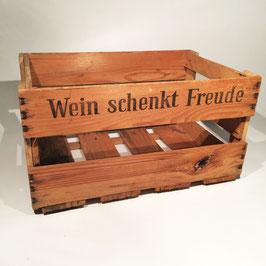 Der Klassiker - Alte Weinkiste, Weinkiste, Kräuterkiste, Obstkiste, Weinsteige, Weinregal, Weinbar, Regal, Bücherregal