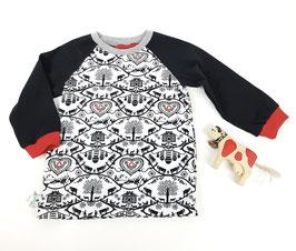 Shirt langarm Kids | Scherenschnitt