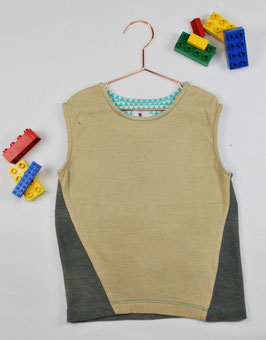 Shirt Kids ¦ Melange grey & baige