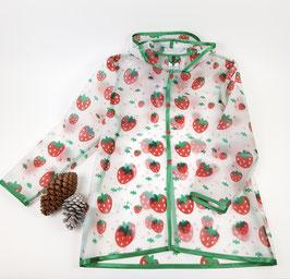 Regenmantel Kids | Erdbeere