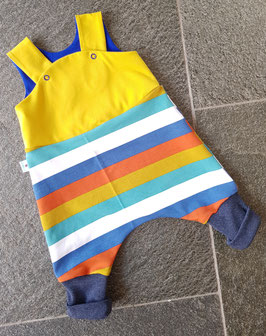 Strampler Baby  | Curry stripe
